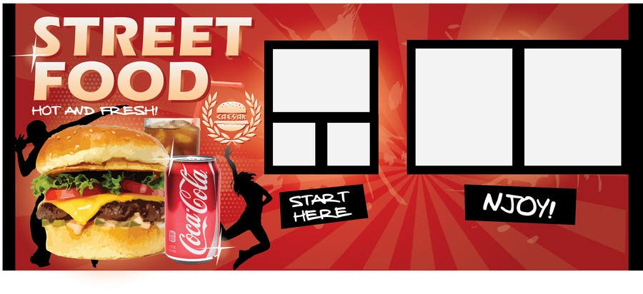Contest Entry #                                        19                                      for                                         I need some Graphic Design idea for fast food kiosk