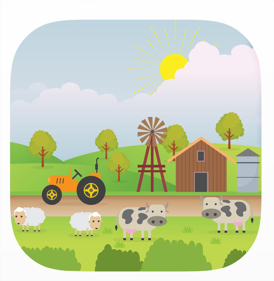 Participación en el concurso Nro.                                        12                                      para                                         Design iOS game icon