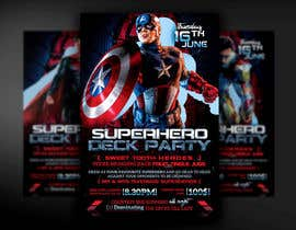 #8 for Super Hero Deck Party - A2 Poster/DL Flyer/FB cover photo by mirandalengo