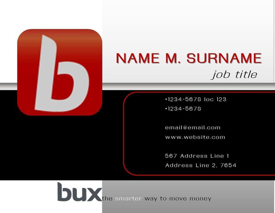 Contest Entry #18 for design a new business card template for organisation