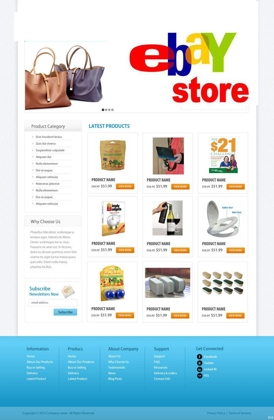 #21 for Build a ebay store and matching listing template, logo and facebook landing page by grapaa
