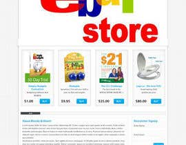 #22 for Build a ebay store and matching listing template, logo and facebook landing page by grapaa