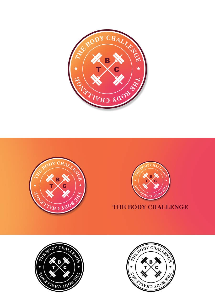"Contest Entry #76 for Design a Logo for ""The Body Challenge"""