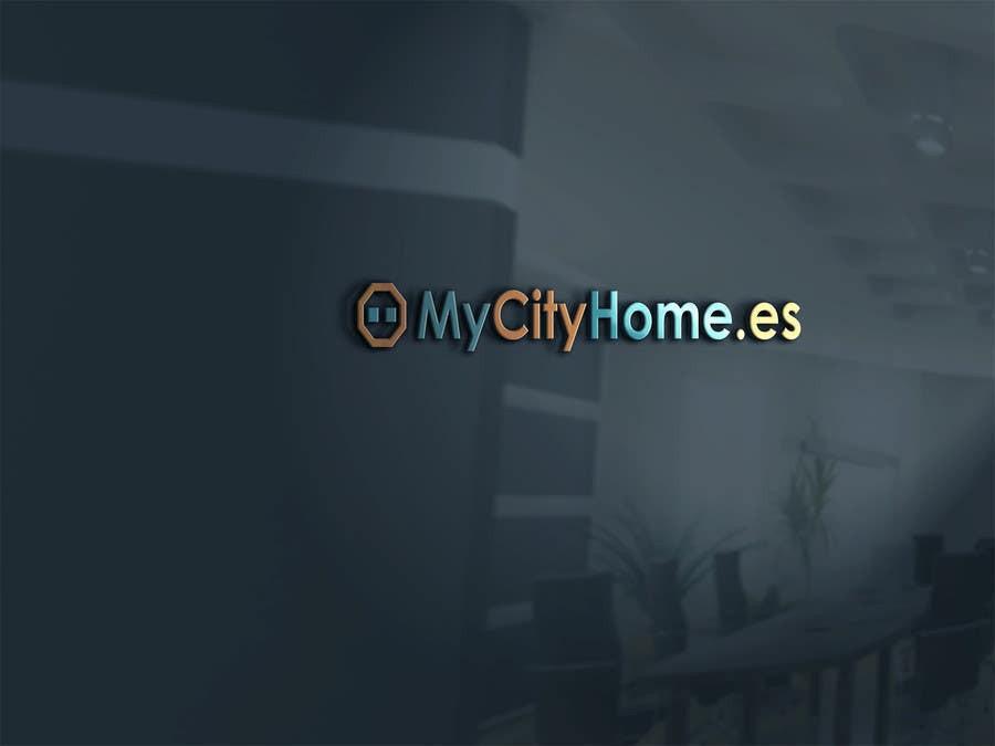Participación en el concurso Nro.                                        20                                      para                                         Logo for MyCityHome.es a fully managed host service in Airbnb for house owners