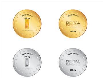 alizahoor001 tarafından Acrylic coin design for encased gold ingot- Please read description -- 2 için no 8