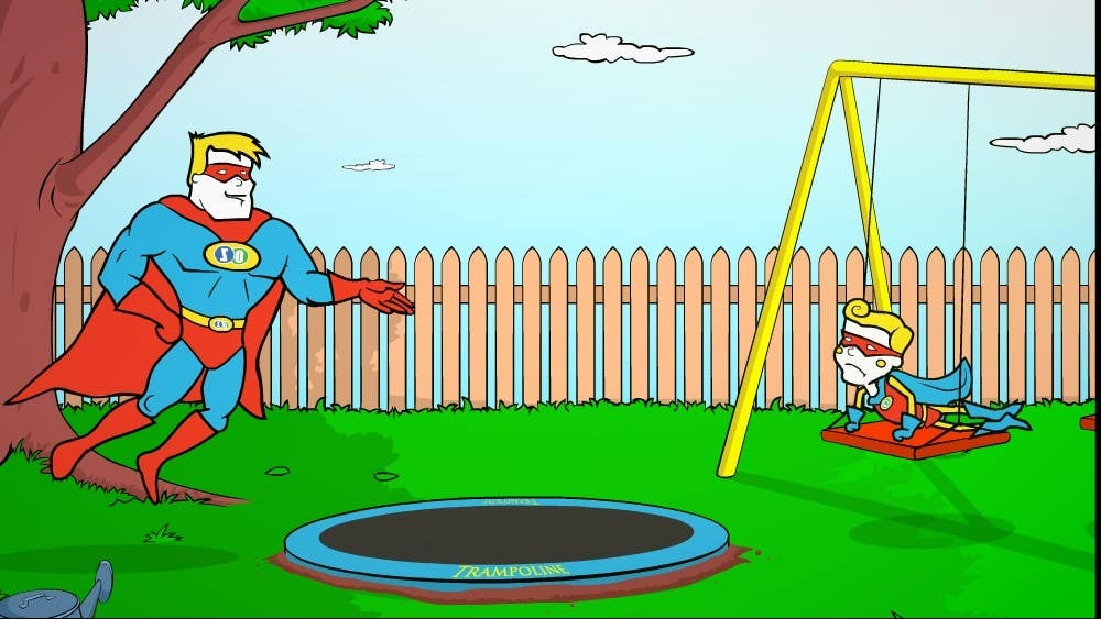 Contest Entry #                                        12                                      for                                         Create an Animation for TRampoline Safety
