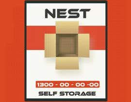 hemersonnegri tarafından Design Dust Jacket For Self Storage Box için no 6