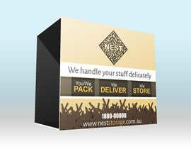 JedBiliran tarafından Design Dust Jacket For Self Storage Box için no 10