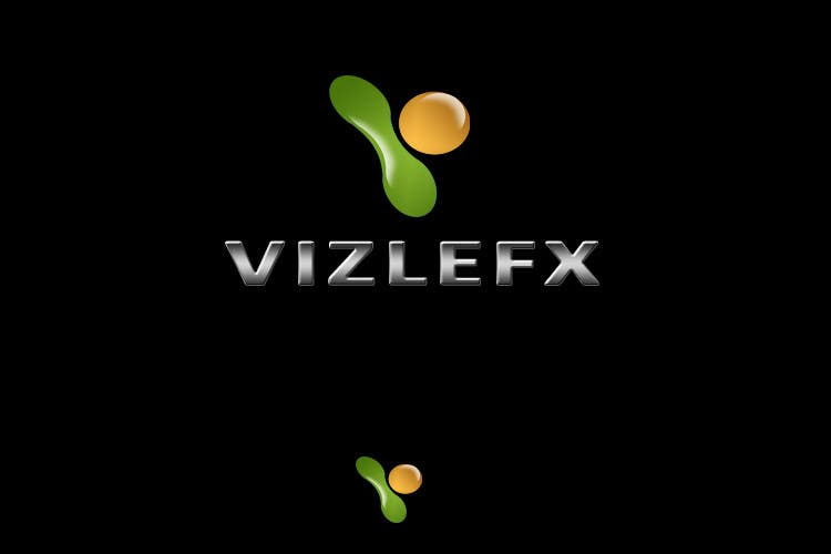 Kilpailutyö #187 kilpailussa Logo Design for VIZLEFX Interactive