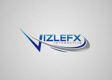 #52 untuk Logo Design for VIZLEFX Interactive oleh davidheckinz