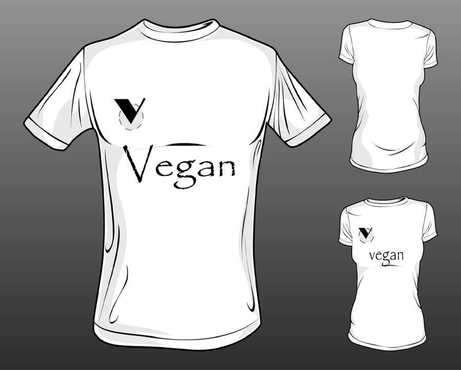 Inscrição nº                                         1                                      do Concurso para                                         Design of a Shirt (Topic - vegan)