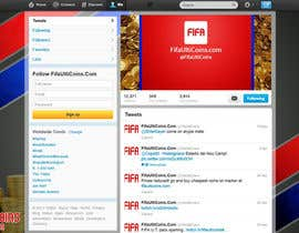 #10 untuk Design a Twitter background&cover for my website oleh DanaDouqa