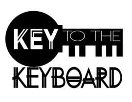 "#68 for DESIGN MY LOGO - ""KEY TO THE KEYBOARD"" - Online Piano Lessons by TyHerrinCreative"