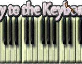 "#54 for DESIGN MY LOGO - ""KEY TO THE KEYBOARD"" - Online Piano Lessons by IamLaguz"