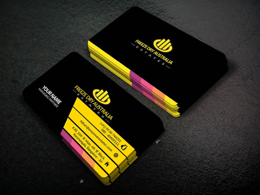 Contest Entry #                                        2                                      for                                         Design some Business Cards- Study Heights