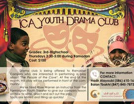 #9 for Design a Flyer for a Drama Club by justinebenez