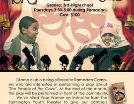 #11 for Design a Flyer for a Drama Club by justinebenez