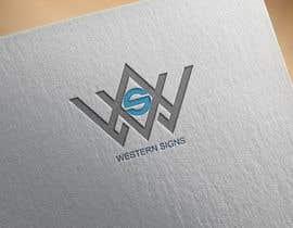 #70 สำหรับ Design a logo for a sign company โดย Elias0
