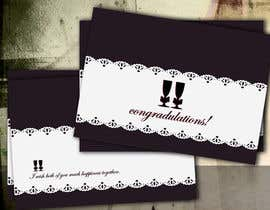 nº 17 pour Design some Stationery for a Wedding Greeting Card - repost par five55555