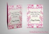 Contest Entry #10 for Design some Stationery for a Wedding Greeting Card - repost