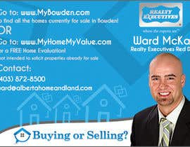#76 for Design an Advertisement for Real Estate Postcard af webncyclo