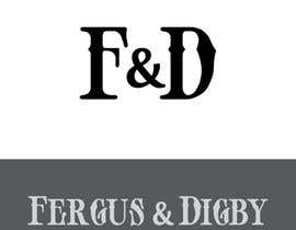 #27 for Design a Logo for Fergus & Digby by vladimirsozolins