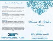 Graphic Design Inscrição do Concurso Nº7 para Gala Sponsorship