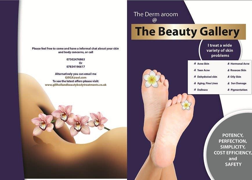 Bài tham dự cuộc thi #13 cho Design a Flyer for a Beauty Gallery