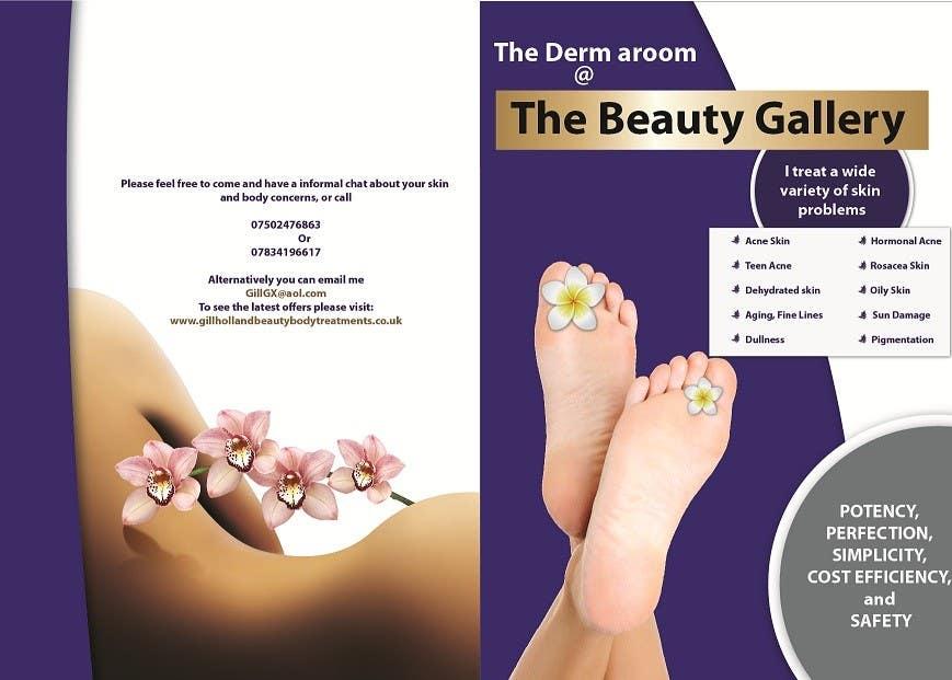 Bài tham dự cuộc thi #23 cho Design a Flyer for a Beauty Gallery