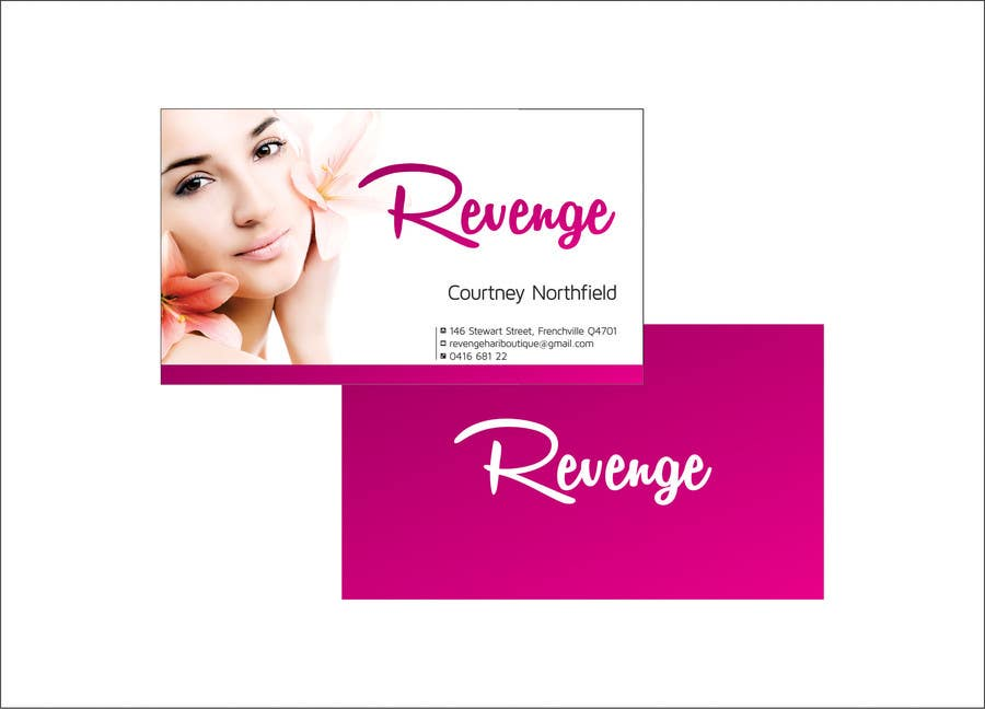 #4 for Design some Business Cards for Revenge by ajdezignz