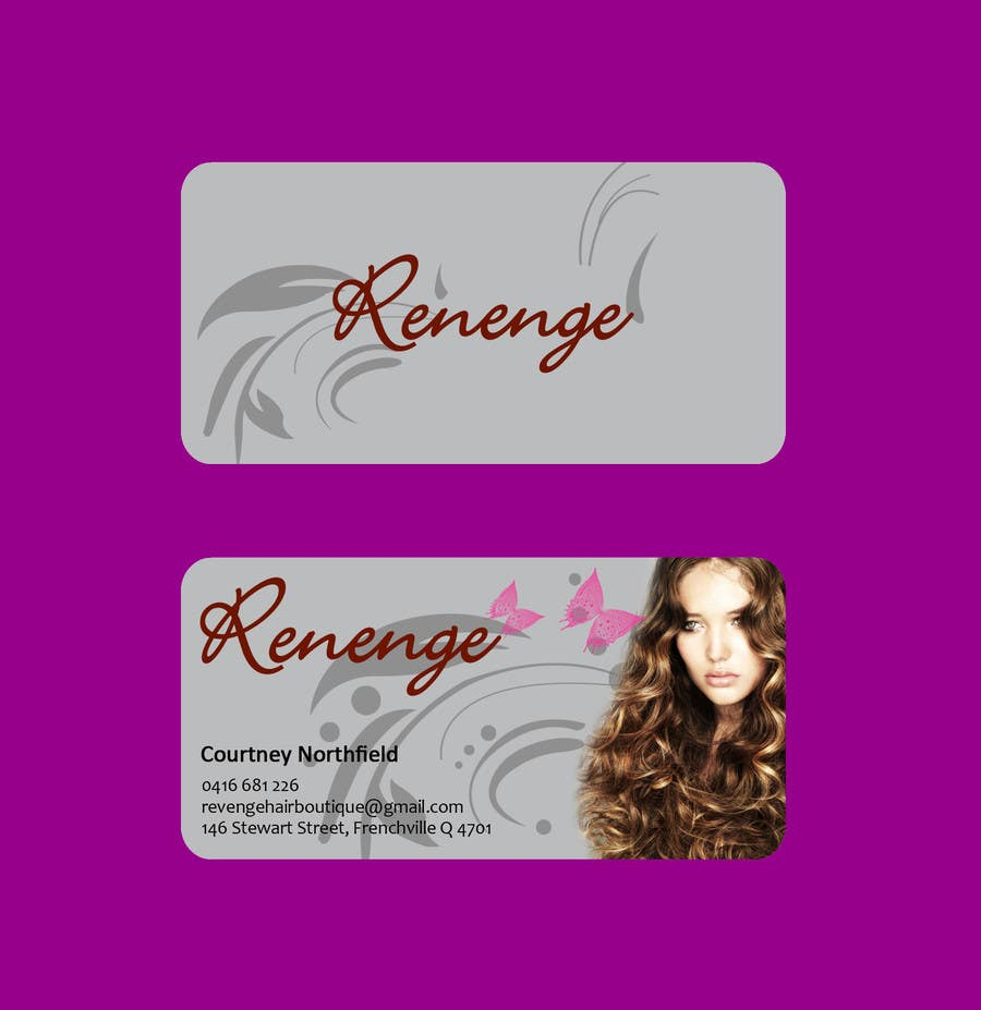 #53 for Design some Business Cards for Revenge by Masumulhaque