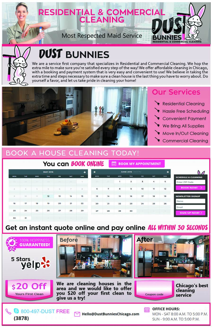 create a half page flyer for cleaning company lancer 3 for create a half page flyer for cleaning company by jessikaguerra