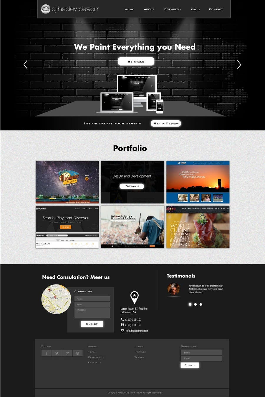 #39 for Design Logo, Branding and Website by jeransl