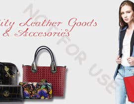 #21 for Design a Banner for Leather Wallets and Bags Website by zMinion