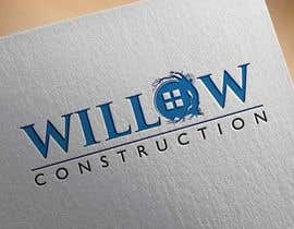 #39 for Willow Construction Logo by snakhter2