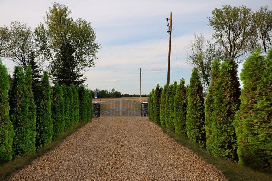 Contest Entry #                                        10                                      for                                         Driveway Gate Design Photoshop