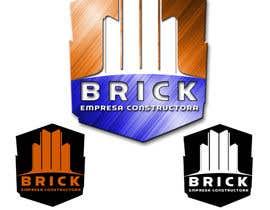 "#119 for Diseño de Logo: ""Brick -  Empresa constructora"". (Logo Design: Brick - Building Company).- by parrajg17"