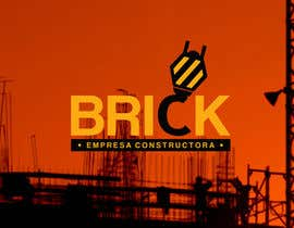 "#48 for Diseño de Logo: ""Brick -  Empresa constructora"". (Logo Design: Brick - Building Company).- by portasjm"