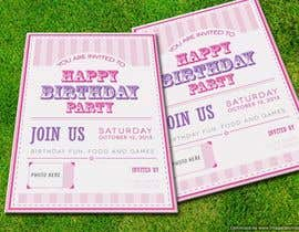 #13 for Design some Stationery for Baby 1st Birthday Invitation af pankaj86