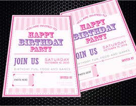 #14 for Design some Stationery for Baby 1st Birthday Invitation by pankaj86