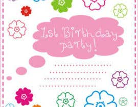 #55 for Design some Stationery for Baby 1st Birthday Invitation af primavaradin07