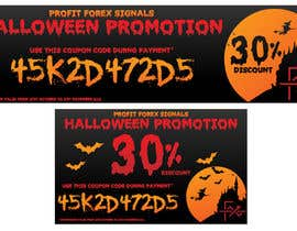 #19 for Design a Banner for Haloween Promotion by SabreToothVision