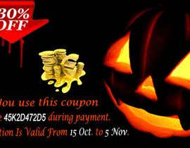#16 untuk Design a Banner for Haloween Promotion oleh webcloud9