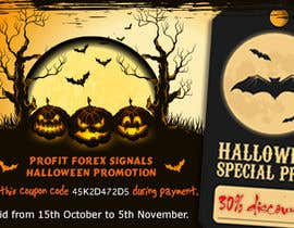 #20 for Design a Banner for Haloween Promotion by webcloud9