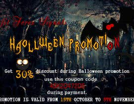 #31 untuk Design a Banner for Haloween Promotion oleh webcloud9