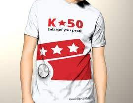 nº 5 pour Design T-SHIRT for K50 (Разработка дизайна футболки for K50) par pankaj86