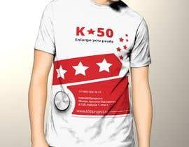 nº 9 pour Design T-SHIRT for K50 (Разработка дизайна футболки for K50) par pankaj86