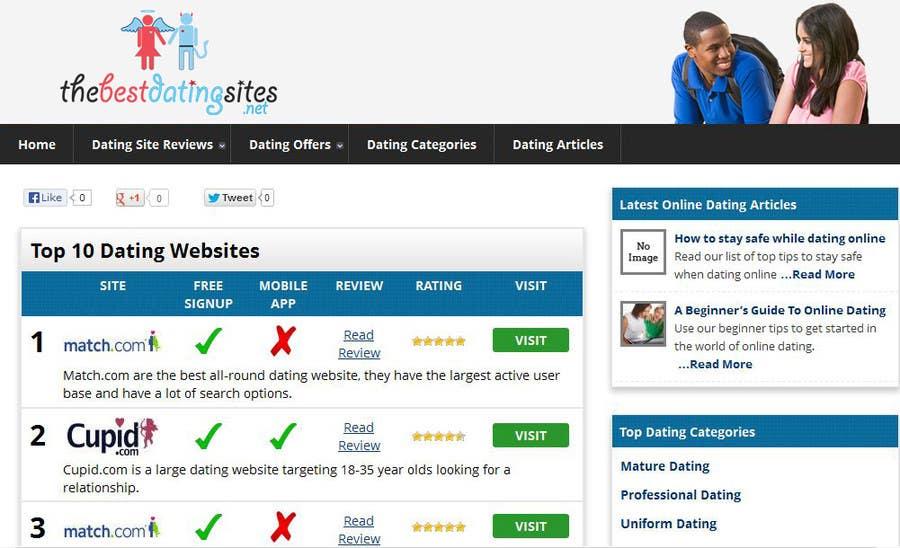 dating website headers