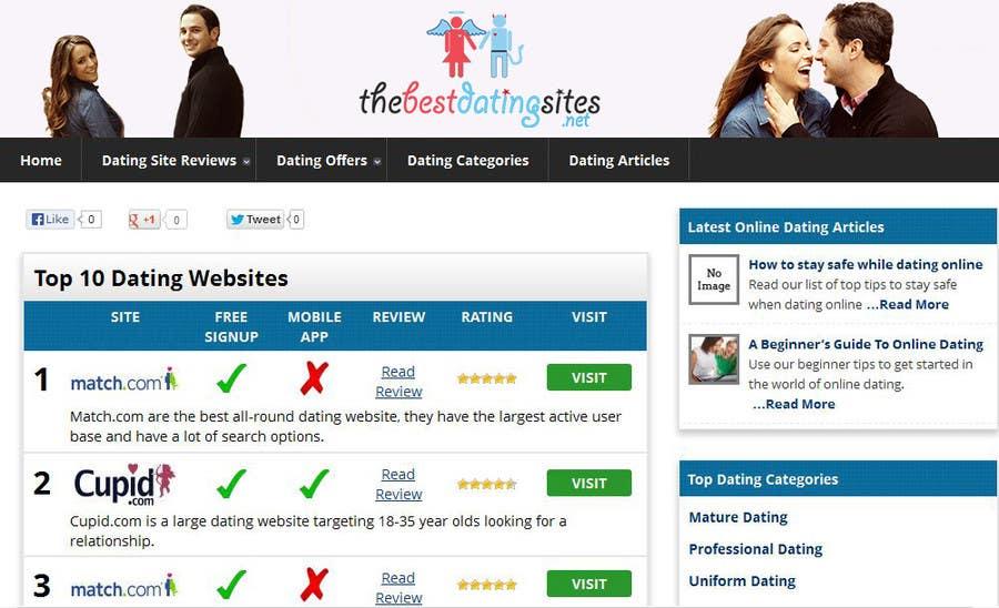 #31 for Design a Logo / Header Banner for a dating website by weblocker