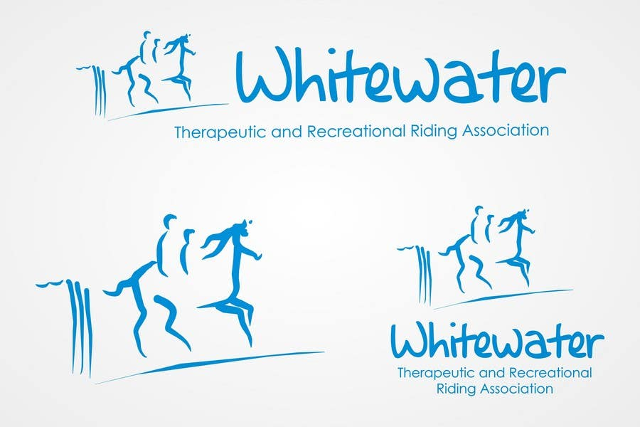 Contest Entry #76 for Logo Design for Whitewater Therapeutic and Recreational Riding Association